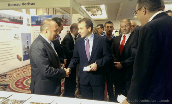 Lebanon's Minister of Energy and Water discusses safety issues with Dr. Elie Daher