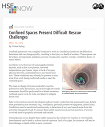 The Challenges of Confined Space