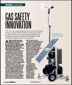 United Safety in the Oil&Gas magazine