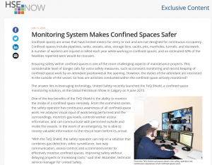 Monitoring System Makes Confined Spaces Safer - remote confined space monitoring system