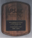 United Safety received a Longstanding Membership Award