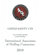 United Safety is a member of the IADC Rig Pass program