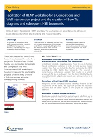 HEMP workshop and Bowtie diagrams