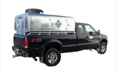 Truck Mounted Breathing Air Storage Unit