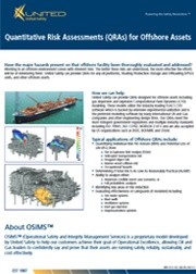 Offshore Quantitative Risk Analysis (QRA) Flyer