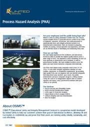 Process Hazard Analysis (PHA) Flyer