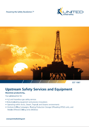 Upstream Safety Services and Equipment brochure
