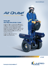 Air Qruise™ Solo Brochure