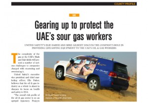 Gearing up to protect the UAE's sour gas workers