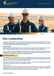 Site Leadership Flyer
