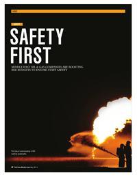 Safety First – United Safety in the Oil&Gas magazine