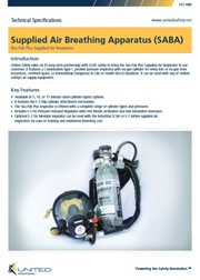 Supplied Air Breathing Apparatus (SABA)