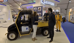 United Safety's Karim Sabet talks to Sky News Arabia at ADIPEC 2014 Video