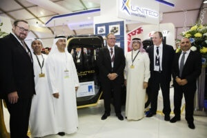United Safety and Al Hosn Gas launch explosion-proof vehicle at ADIPEC 2014