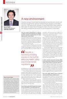 A new environment - The Oil & Gas Year / Abu Dhabi