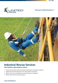 Industrial Rescue Services Flyer for Africa