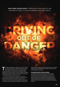 Driving Out of Danger – Oilfield Technology Magazine