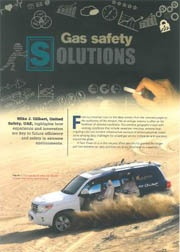 Gas safety solutions – World Pipelines Magazine
