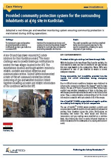 Gas detection monitoring system for community protection in Saudi Arabia