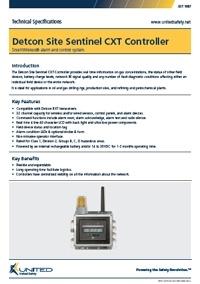 Detcon Site Sentinel CXT Controller