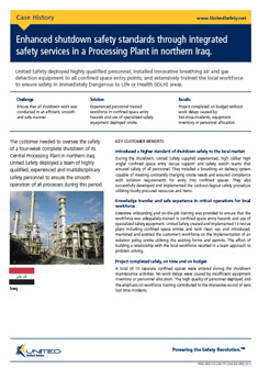 Enhanced shutdown safety standards in a Processing Plant in Iraq